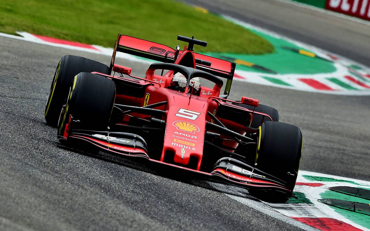 Sebastian Vettel contra las cuerdas