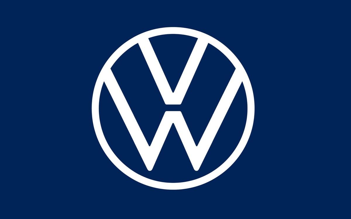 Volkswagen presentó su nuevo logo