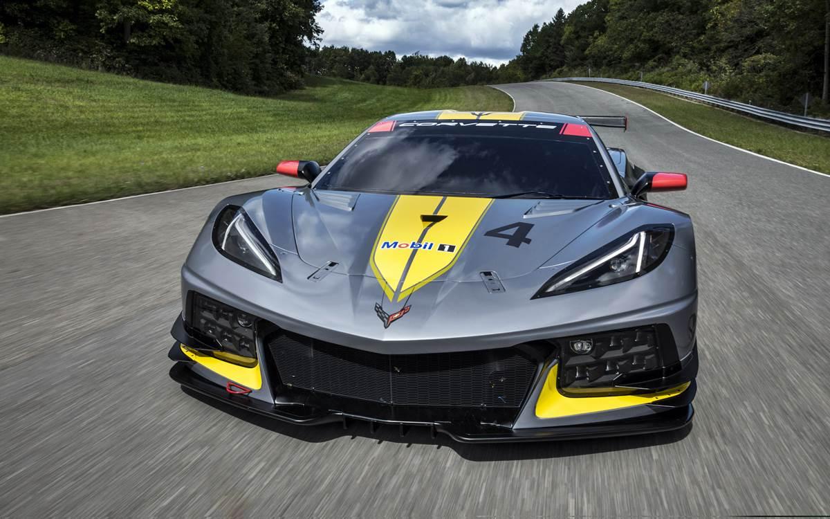 El Chevrolet Corvette C8.R listo para salir a la pista