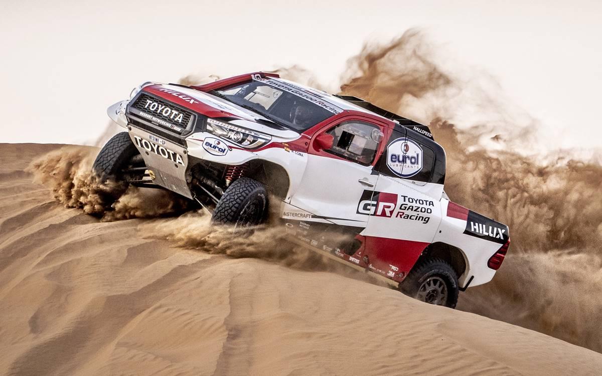 ¡Es oficial! Fernando Alonso correrá el Dakar 2020