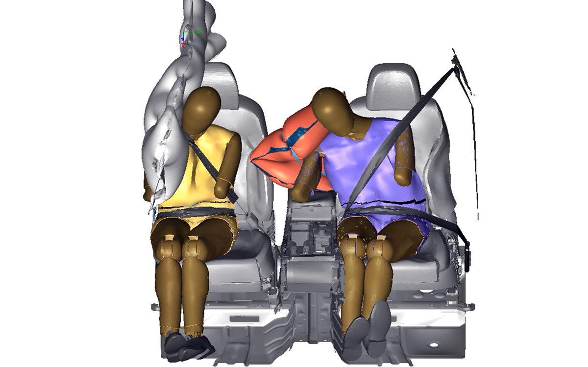 ¿Cómo funciona el airbag lateral central de Hyundai?