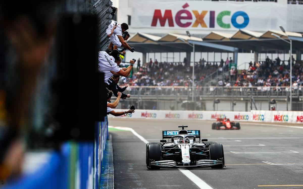 Lewis Hamilton y una victoria a la mexicana