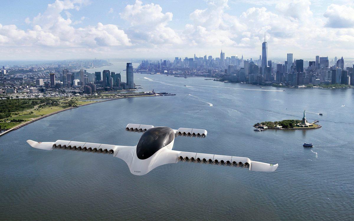 El taxi volador Lilium Jet realizó sus primeras pruebas