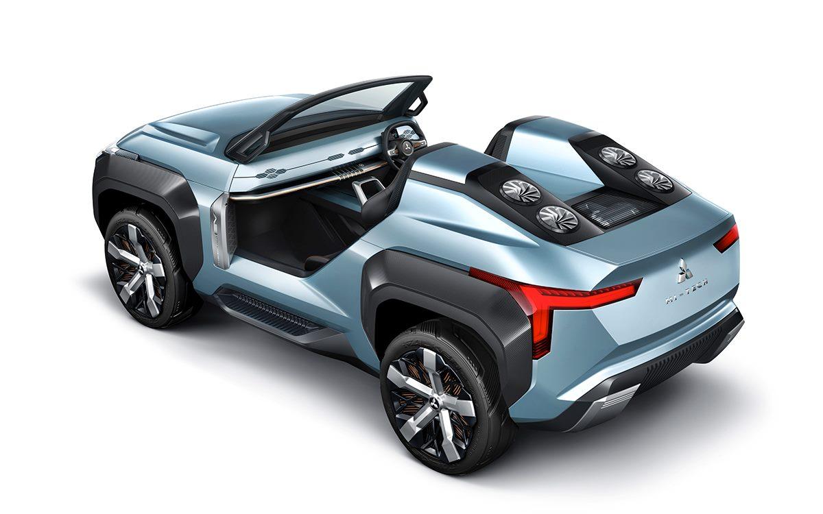 Mitsubishi Mi-Tech Concept: Un SUV con espíritu de buggy