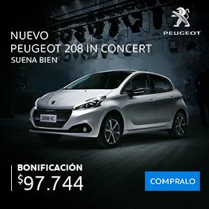 Peugeot 208 In Concert