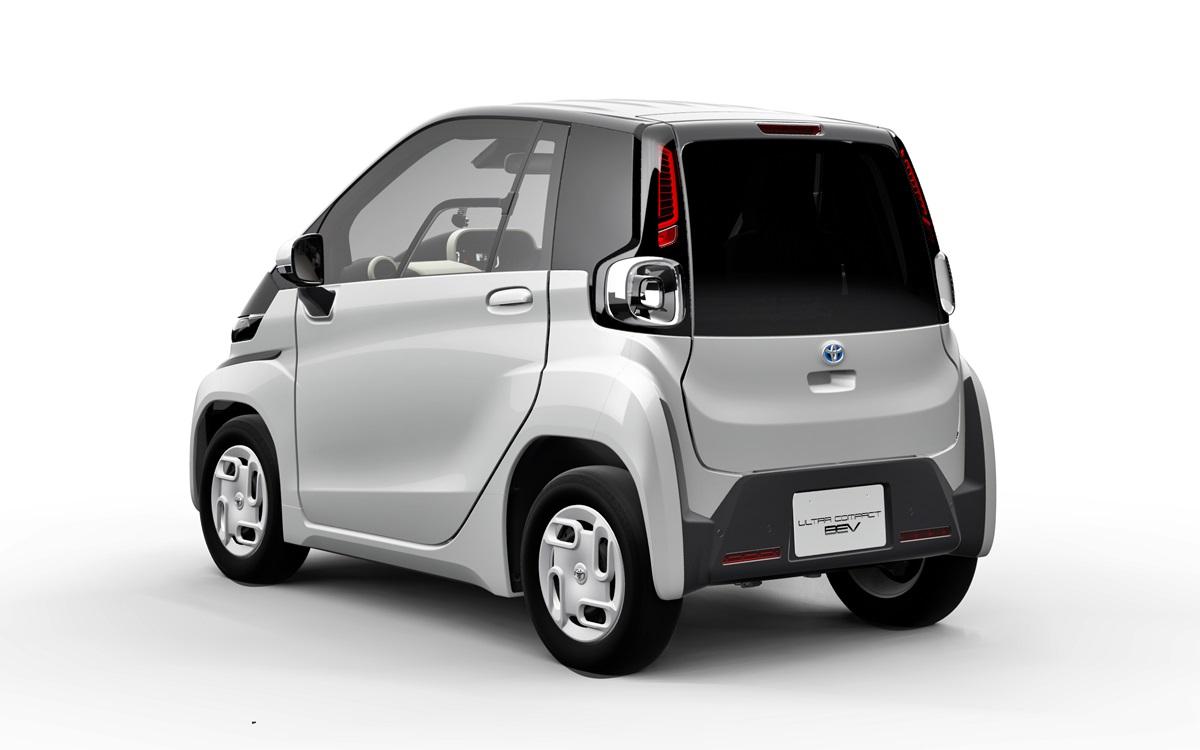 Toyota Ultra-Compact: Un vehículo eléctrico diseñado para trayectos cortos