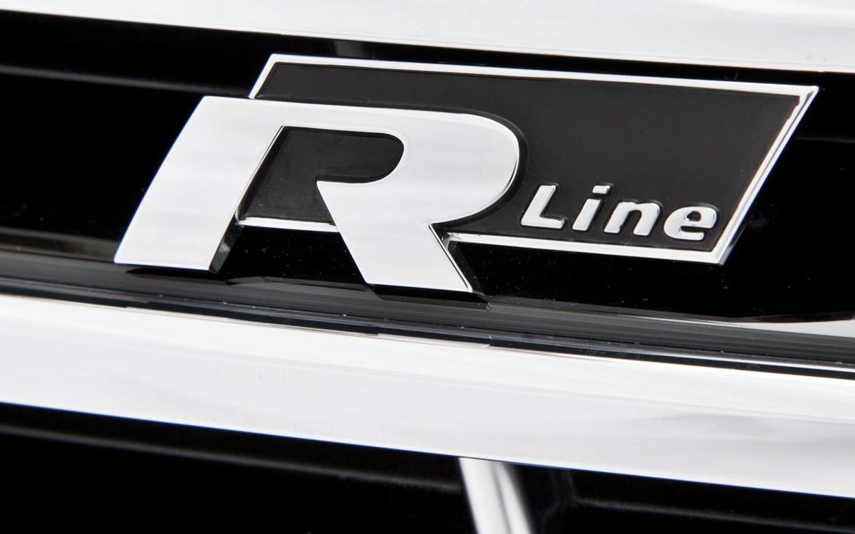 Volkswagen R con nuevo logo