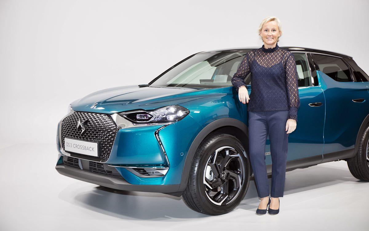 Marion David, directora de producto de DS Automobiles, analiza al DS 3 Crossback