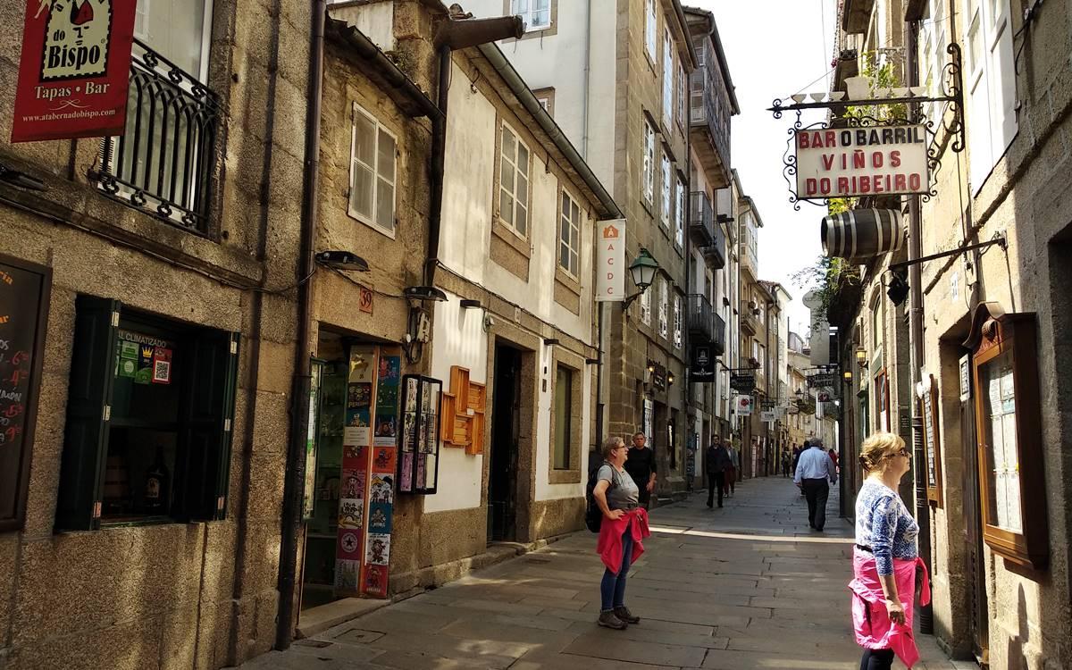 El Paris-Dakar de Santiago de Compostela