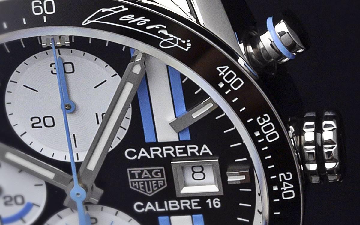 Fangio TAG Heuer Carrera Calibre 16: Solo para exigentes