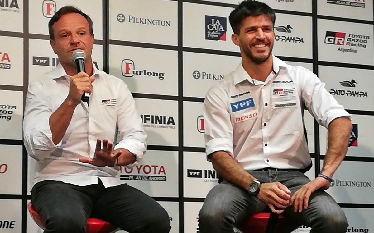 Rubens Barrichello, incorporación de lujo del Toyota GAZOO Racing Argentina