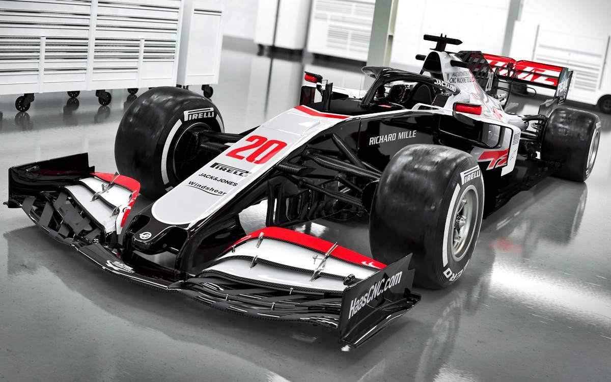 Haas VF-20: El regreso a los viejos colores