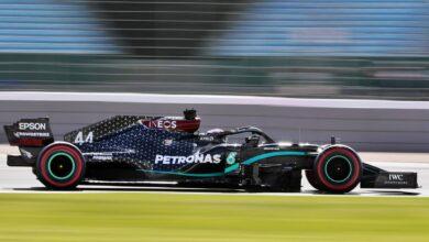 Photo of GP de Gran Bretaña 2020: ¡Lewis Hamilton, ganó en Silverstone con una goma destrozada!