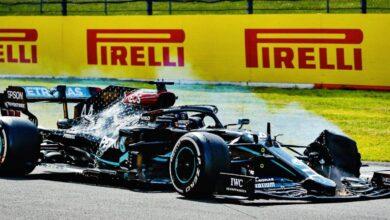 """Photo of Lewis Hamilton: """"Rezaba para que el coche cruzara la meta"""""""
